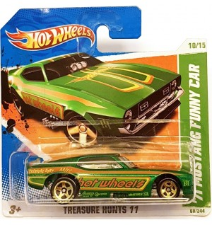 Hot Wheels 71 Mustang Funny Car Th Treasure Hunts 2011
