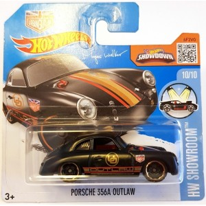 Hot Wheels Porsche 356A Outlaw HW Show Room 2017 Siyah