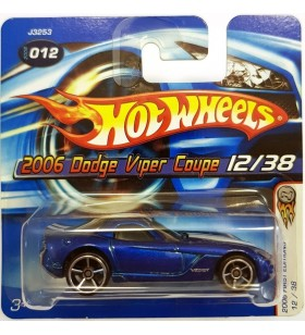 Hot Wheels 2006 Dodge Viper Coupe First Editions 2006 Mavi