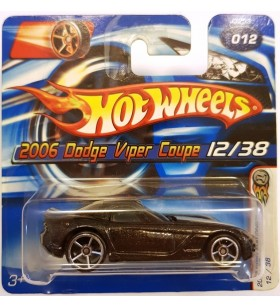 Hot Wheels 2006 Dodge Viper Coupe First Editions 2006 Siyah