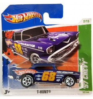 Hot Wheels 57 Chevy Treasure Hunts 2010