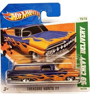Hot Wheels 59 Chevy Delivery Th Treasure Hunts 2011