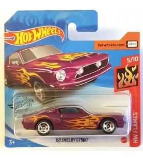 Hot Wheels 68 Shelby GT500 HW Flames 2020 Pembe