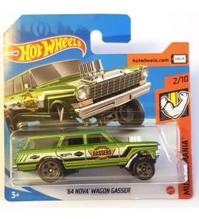 Hot Wheels 64 Chevy Nova Wagon Gasser Muscle Mania