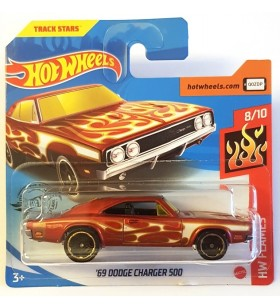 Hot Wheels 69 Dodge Charger 500 HW Flames 2020