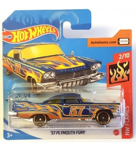 Hot Wheels 57 Plymouth Fury HW Flames 2020