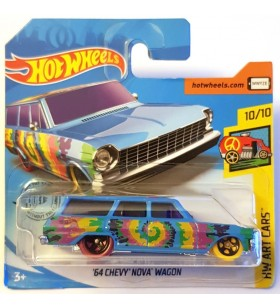 Hot Wheels 64 Chevy Nova Wagon HW Art Cars