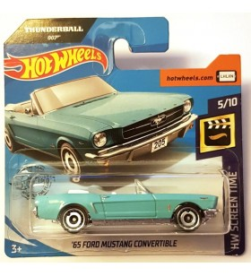 Hot Wheels 65 Ford Mustang Convertible HW Screen Time