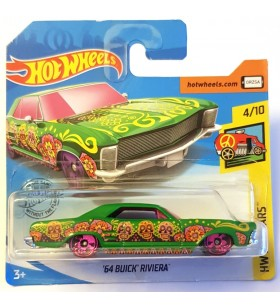 Hot Wheels 64 Buick Riviera HW Art Cars Yeşil
