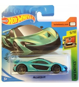 Hot Wheels Mclaren P1 HW Exotics Yeşil