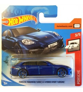 Hot Wheels Porsche Panamera Turbo S E-Hybrid Mavi