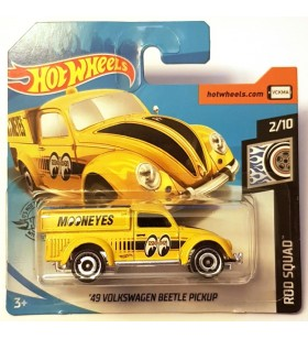 Hot Wheels 49 Volkwagen Beetle Pickup Mooneyes Rod Squad