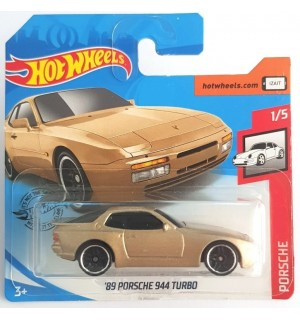 Hot Weels 89 Porsche 944 Turbo Porsche Series