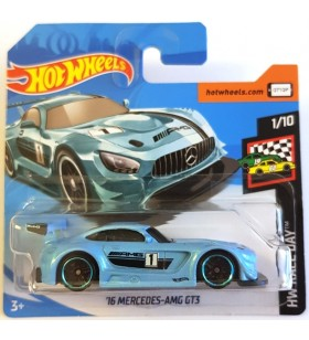 Hot Wheels 16 Mercedes AMG GT3 HW Race Day 2019 Mavi