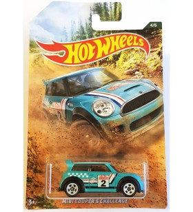 Hot Wheels Mini Cooper Challange Rally Serisi