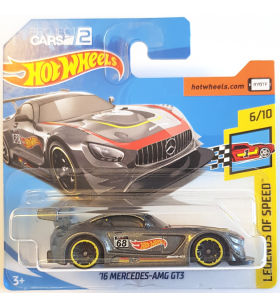 Hot Wheels 16 Mercedes AMG GT3 Legends of Speed 2018