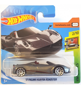 Hot Wheels 17 Pagani Huayra Roadster 2018 Exotics