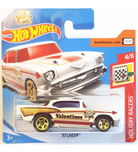 Hot Wheels 57 Chevy Holiday Racers 2018