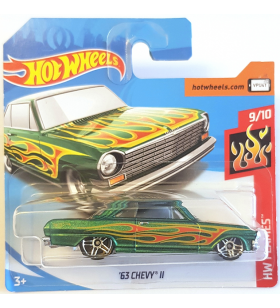 Hot Wheels 63 Chevy II HW Flames 2018
