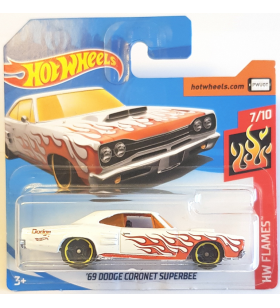 Hot Wheels 69 Dodge Coronet Superbee HW Flames 2018