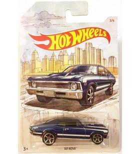 Hot Wheels 68 Nova Skeç Araba Resimli