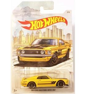 Hot Wheels 69 Ford Mustang Boss 302 Skeç Resimli