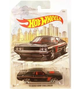 Hot Wheels 70 Dodge Hemi Challenger Skeç Resimli