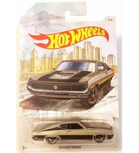 Hot Wheels 70 Ford Torino Skeç Araba Resimli