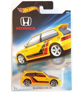 Hot Wheels 90 Honda Civic EF Honda 2017 No2