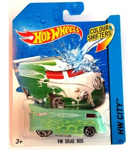Hot Wheels VW Drag Bus HW City Colorshifters 2013