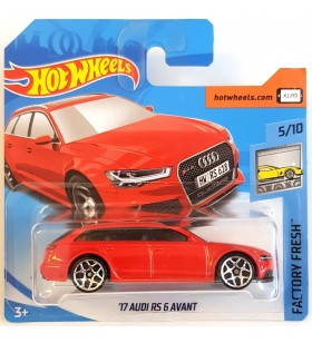 Hot Wheels 17 Audi RS6 Avant Factory Fresh 2018