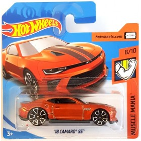 Hot Wheels 18 Camaro SS Muscle Mania 2018