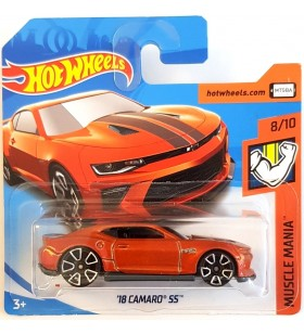 Hot Wheels 18 Camaro SS Muscle Mania 2018