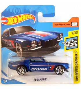 Hot Wheels 70 Camaro HW Speed Graphics 2018