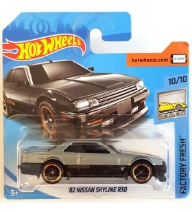 Hot Wheels 82 Nissan Skyline R30 Factory Fresh 2018 Gri