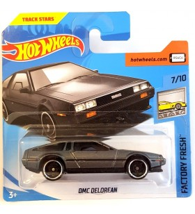 Hot Wheels DMC  Delorean Factory Fresh 2018