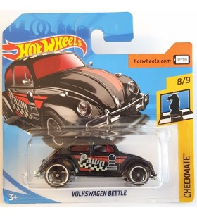 Hot Wheels Volkswagen Beetle Checkmate 2018 Siyah