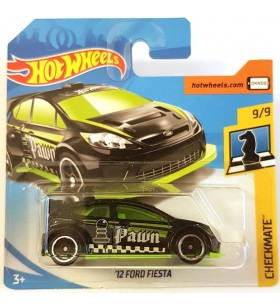 Hotwheels 12 Ford Fiesta Checkmate 2018