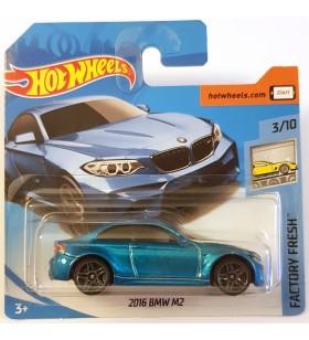 Hot Wheels 2016 BMW M2 Factory Fresh 2018 Mavi