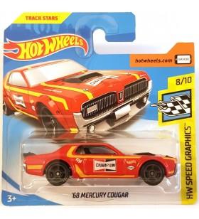 Hotwheels 68 Mercury Cougar HW Speed Graphics 2018
