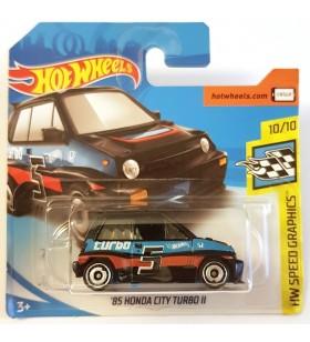 Hotwheels 85 Honda City Turbo II HW Speed Graphics 2018