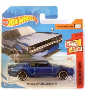 Hot Wheels Nissan Skyline 2000 GT-R Then and Now 2018