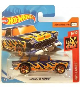 Hot Wheels Classic 55 Nomad HW Flames 2018