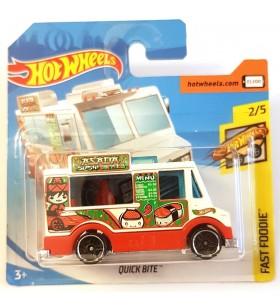 Hot Wheels Quick Bite Fast Foodie 2018 Beyaz