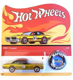 Hot Wheels 1968 Cougar 50th Aniv. Originals Redline