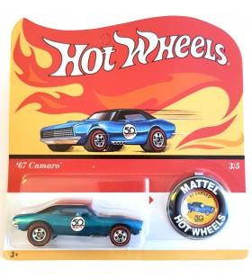 Hot Wheels 67 Camaro 50th Aniv. Originals Redline