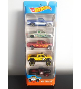 Hot Wheels 5'li Araba Seti Hot Trucks 2016