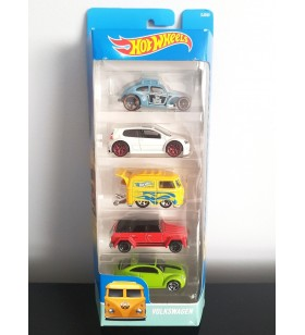 Hot Wheels 5'li Araba Seti Volkswagen 2015 Kool Kombi